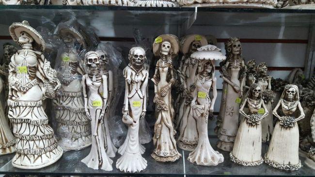Santa Muerte, Дева Мария и страх смерти