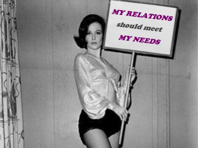 Корыстность и удовлетворение потребностей в отношениях