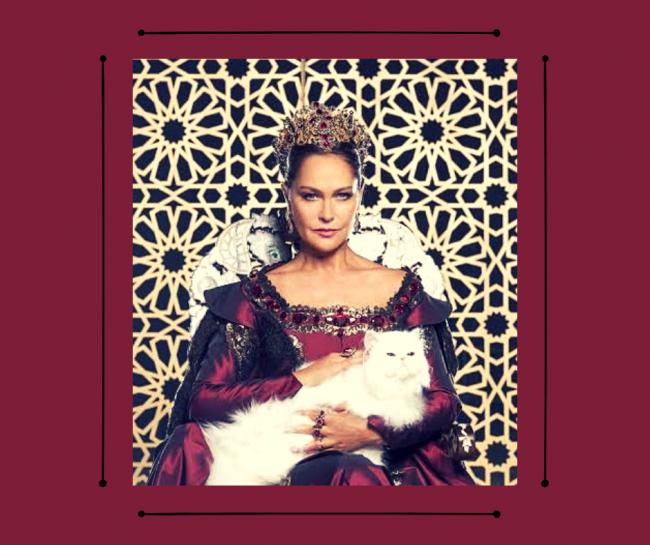 Царица – хитрая «львица»
