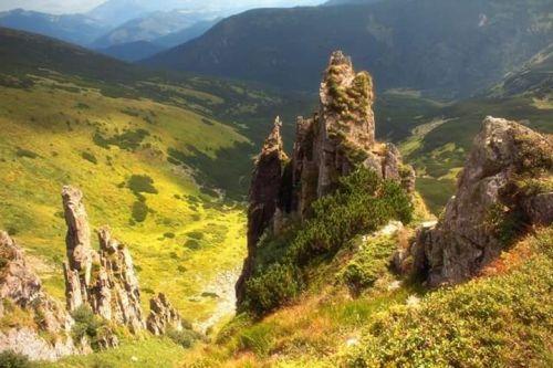 Тур-Контакт в Карпатах. Черногорский хребет, Шпицы