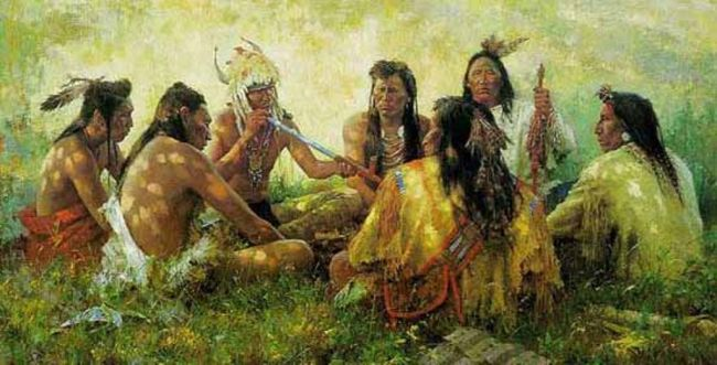 Туземные корни «кругов» и как о них узнали представители некоренных народов