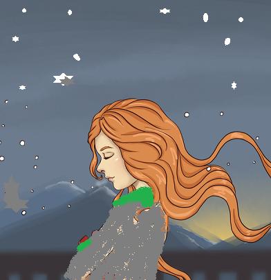 Зимнее настроение - побег