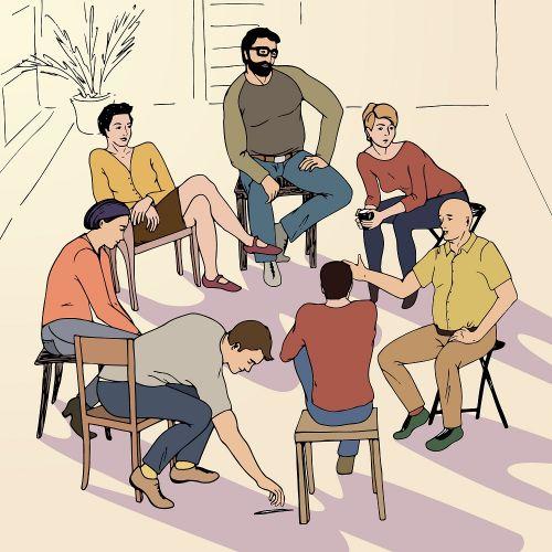 Терапевтическая группа. Киев