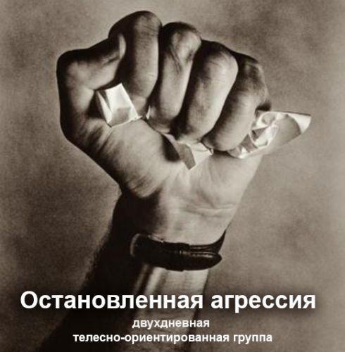 Остановленная агрессия. Двухдневная телесно-ориентированная группа, 9-10 декабря, Ростов-на-Дону