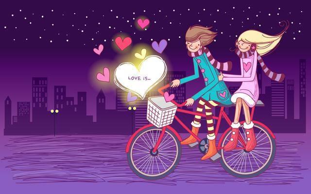 Этапы развития отношений 1: Влюбленность