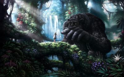 Девочка и чудовища (сказкотерапия)