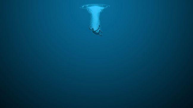 На поверхности