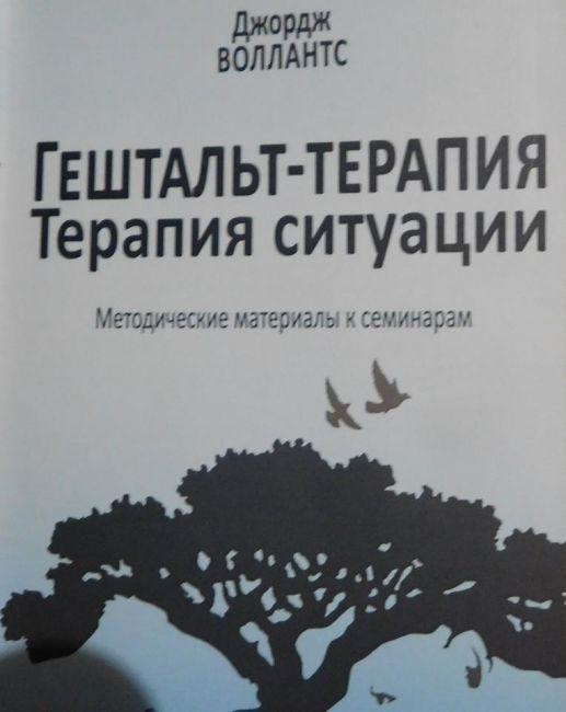 «Гештальттерапия. Терапия ситуации» (обзор книги Джорджа Воллантса)